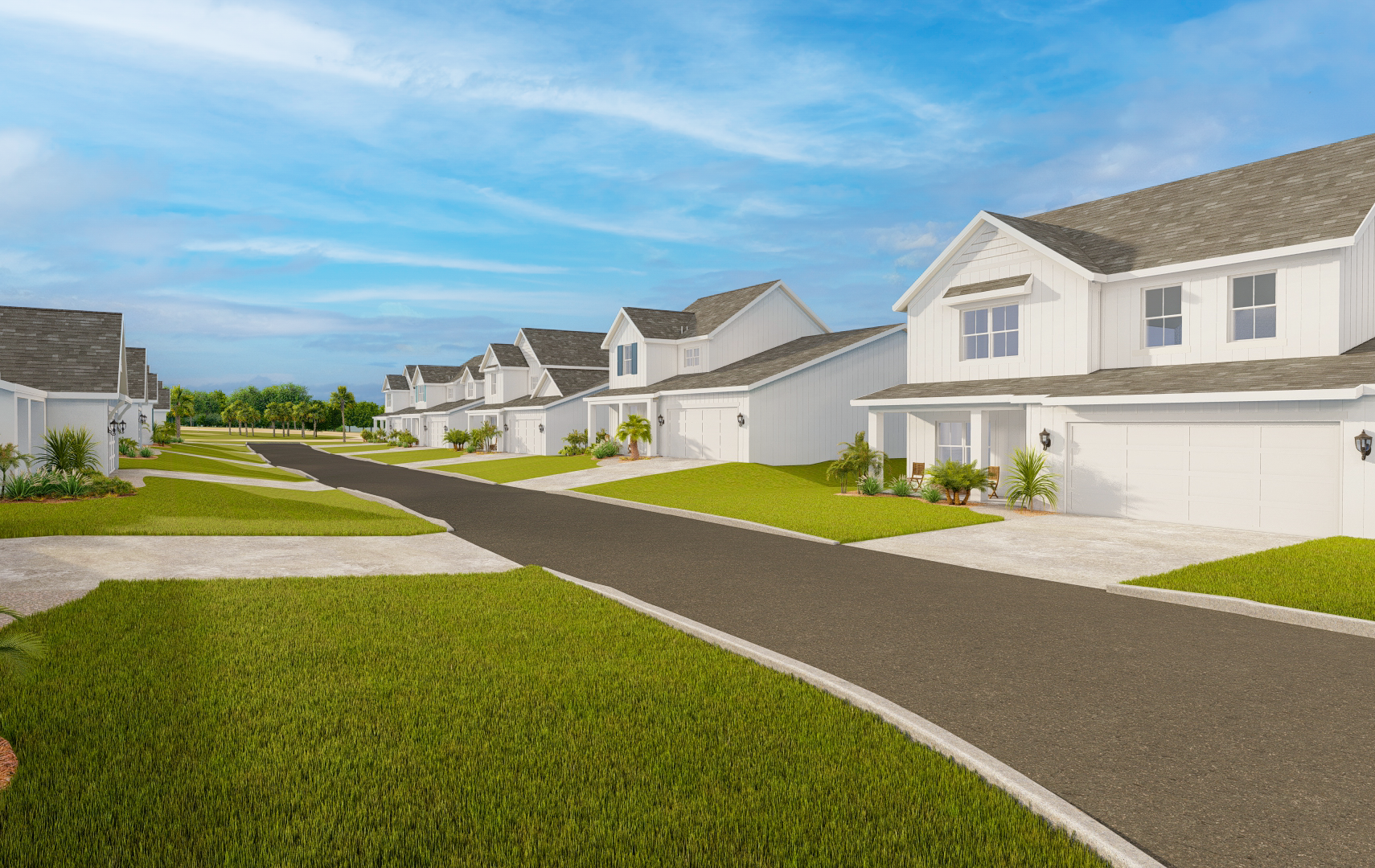 The Preserve at Lake Powell community rendering